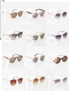 UO sunglasses 2013