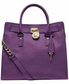c32fbdc5585dc5 MICHAEL Michael Kors Hamilton Saffiano Leather Tote & Reviews - Handbags &  Accessories - Macy's