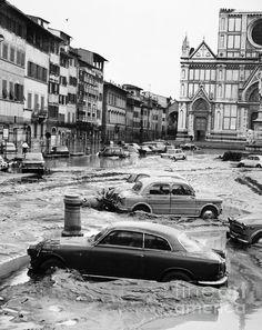 Flood in Florence, Nov 1966