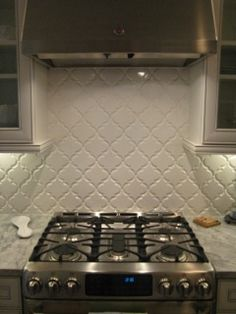 like this white countertop the darker cabinets