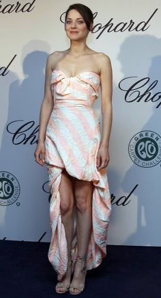 Marion Cotillard in Vivienne Westwood dress and Chopard Jewels | Cannes Film Festival 2013