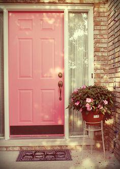 Door Designs The Feminine Touch Of Pink Underneath Moon Doors Design Front