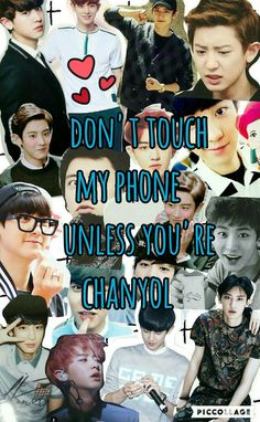 chanyol oppa collage exo image