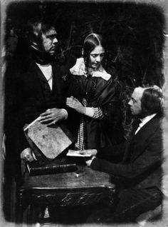 George William Bell, Lady Moncrieff (née Bell) and Thomas Blizzard Bell by David Octavius Hill, and Robert Adamson calotype, 1843-1848 National Portrait Gallery http://www.npg.org.uk/collections/search/portrait/mw00492/George-William-Bell-Lady-Moncrieff-ne-Bell-and-Thomas-Blizzard-Bell?LinkID=mp11619=art=17