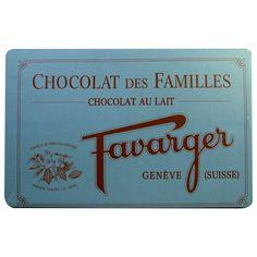 Chocolat suisse au lait Favarger - tablette Chocolat des Familles 1 kg