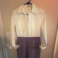 Calvin Klein one piece Very cut one piece blouse/knee length skirt Calvin Klein Dresses