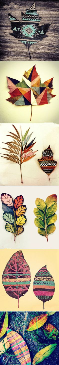 Beautiful Leaves Craft | Click to see More DIY & Crafts Tutorials on Our Site.