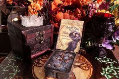Goddess Hecate Soy Wax Clamshell Spell Tarts Melts by HoneyVineMagickals on Etsy