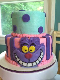 Alive in Wonderland cake