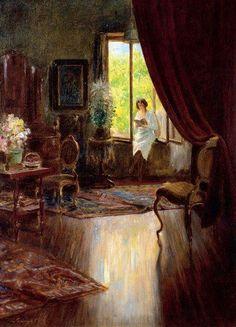 https://www.facebook.com/MiaFeigelson By Spányik Kornél, from Pozsony, Hungary (1858 - 1943) - oil painting -