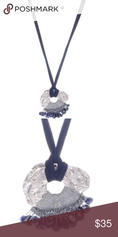 Bohemian Semi Precious Beads Pendant Necklace Size: 28 inch length and 2 inch extension Material: Plated metal, Glass, Acrylic Closure: Lobster clasp Jewelry Necklaces