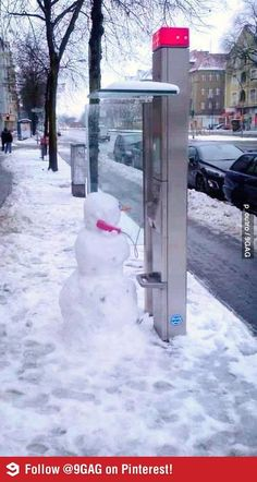 Hello? Yes, this is Snowman!