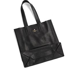 ASPINAL Essential leather tote (Smooth black