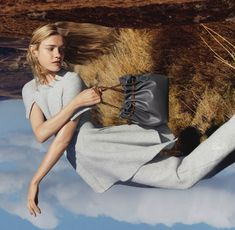 A scenic mixture of collage and fashion. See the Stella McCartney F/W 2015-2016 collection photographed by Harley Weir and modeled by Natalia Vodianova. See the photo shoot below: Publication: Ste…