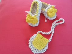 Shoes for babie girls + small bag+crochet beanie.Baby Shoes,Crochet Baby Shoes,Baby Baptism,Cotton Shoes,Crochet,Baby Shoe,by elvi handmade Crochet Baby Shoes, Crochet Beanie, Baby Baptism, Babies, Trending Outfits, Unique Jewelry, Handmade Gifts, Girls, Cotton