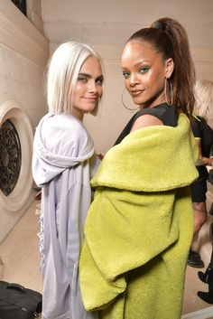 So you're Rhianna and I'm Cara? I'm cool with that