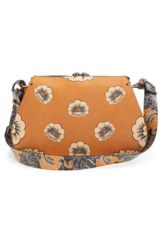 Valentino Floral Print Leather Hobo | Sponsored by Nordstrom Rack.