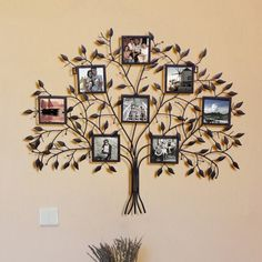 Family Tree Wall Collage Products Ideas For 2019 Family Tree Picture Frames, Family Tree With Pictures, Unique Picture Frames, Picture Frames Online, Hanging Picture Frames, Picture Frame Sets, Collage Picture Frames, Hanging Pictures, Wall Collage