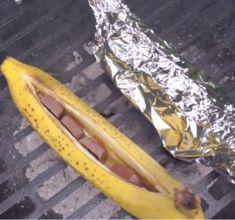 Banane-Chocolat au BBQ