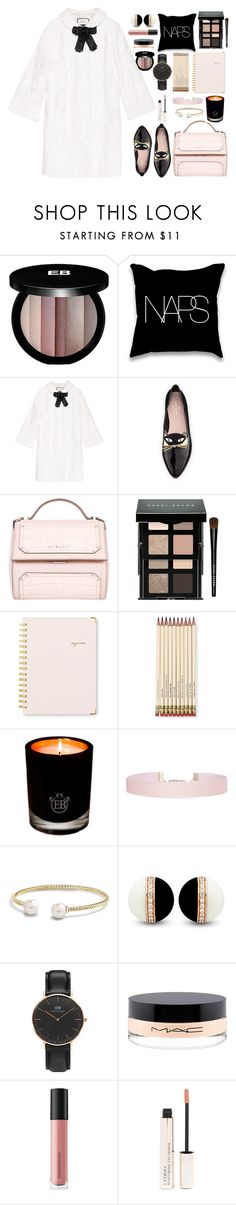 Naps by bamaannie on Polyvore featuring Gucci, Kate Spade, Givenchy, Daniel Wellington, David Yurman, Humble Chic, Bobbi Brown Cosmetics, Edward Bess, MAC Cosmetics and Bare Escentuals