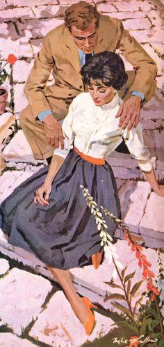 Mike Ludlow 1921-2010   American Glamour Pin-up illustrator