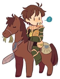 Fire Emblem: Awakening - Stahl It's not just this picture. Stahl himself is adorable.