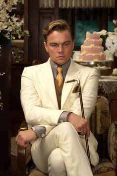The suits in the great gatsby were fantastic.                                                                                                                                                      Plus