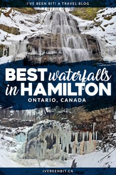 Known as the city of waterfalls and possibly even the waterfall capital of the world, Hamilton, Ontario has so much to offer waterfall chasers! With over 120 waterfalls to choose from, it can be overwhelming to know where to go! This guide outlines the be Toronto Canada, Hamilton Ontario Canada, Canada Ontario, Alberta Canada, Belfast, Quebec, Montreal, Glamping, Travel Photography