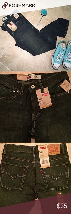 "Levi 510"" Skinny Stretch NWT Levi's 510 Skinny fit and Stretch! Size: 16 Regular. Levi's Jeans Skinny"