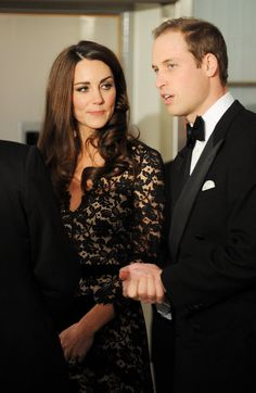 Kate and William at the London War Horse premiere