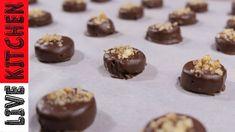 Νηστίσιμα Σοκολατάκια με μόνο 3 Υλικά | Ιδανικά για μικρά παιδιά | Συνταγή Live kitchen - YouTube Kitchen Living, 3 Ingredients, Muffin, Pudding, Yummy Food, Sweets, Vegan, Healthy, Breakfast