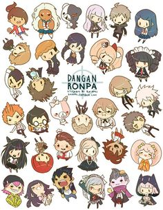 Dangan Ronpa c; An AMAZING Anime- if you ever get the chance, I strongly suggest you watch it!