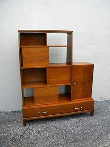 Mid-Century Bookshelf/Cabinet/Room Divider.