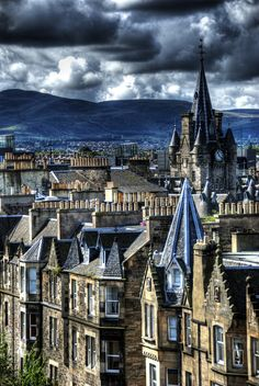 Edinburgh City | Scotland (by Patrick Theiner)