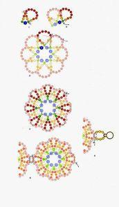 Beading Patterns Free, Seed Bead Patterns, Beaded Jewelry Patterns, Beading Tutorials, Bracelet Patterns, Free Pattern, Seed Bead Bracelets, Seed Bead Jewelry, Seed Bead Earrings