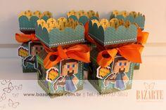 Minecraft foi o tema escolhido pela mamãe Giselle para a comemoração do aniversário do seu Pedro Augusto. O colorido característico e m...
