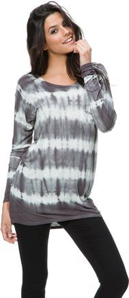SWELL SNOW DAY TIE DYE LS KNIT TOP | Swell.com