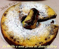 Ciambellone variegato con crema di nocciola e purea di fichi ~ Le Mille e una Torta di Dany e Lory ♥