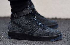 Nike Air Force 1 Ultra Flyknit Black/Grey | Complex CA