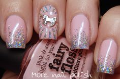 31DC2015 - Inspired by a book - Thelma the unicorn ~ More Nail Polish