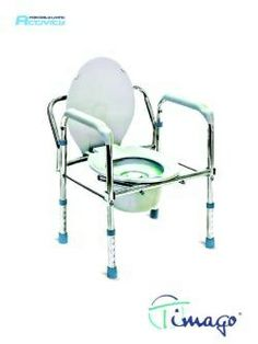 Krzesło toaletowe składane