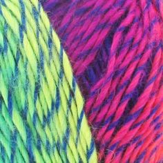 Laine Wild Wild Wool Freestyle Chunky Mix Fluo x 100g