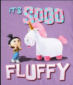 So fluffy despicable me