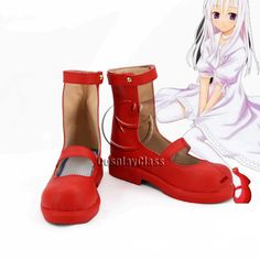 Momo: The Girl God of Death Shinigami no Ballad Momo Cosplay Shoes – CosplayClass  #cosplayclass #cosplayshoes