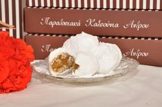kalsounia, traditional sweets of Andros  -  καλσούνια, παραδοσιακά γλυκά Άνδρου, visit us at www.kallivroussis.gr, andros Menu, Sweets, Cheese, Food, Menu Board Design, Gummi Candy, Candy, Essen, Goodies