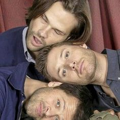 What if Jared actually fell asleep and his drool lands on Misha's neck