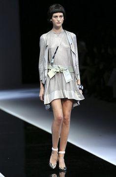 Emporio Armani en la segunda jornada de la Milan Fashion Week |