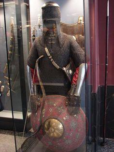Turkish Military, Turkish Army, Persian Warrior, Chainmail Armor, Crimean Tatars, Ottoman Turks, Military Costumes, Harbin, Arm Armor