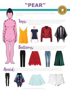 Dress acordingly to your body shape | My Golden Thimble