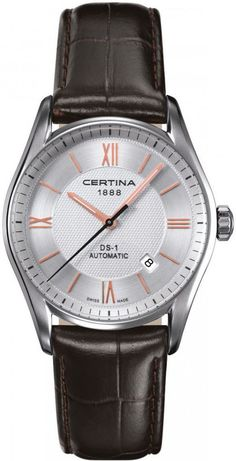 Certina Watch Roman Automatic Watch available to buy online from with free UK delivery. Daniel Wellington, Tommy Hilfiger, Gentleman Watch, Stainless Steel Case, Omega Watch, All In One, Leather, 10 Days, Stuff To Buy